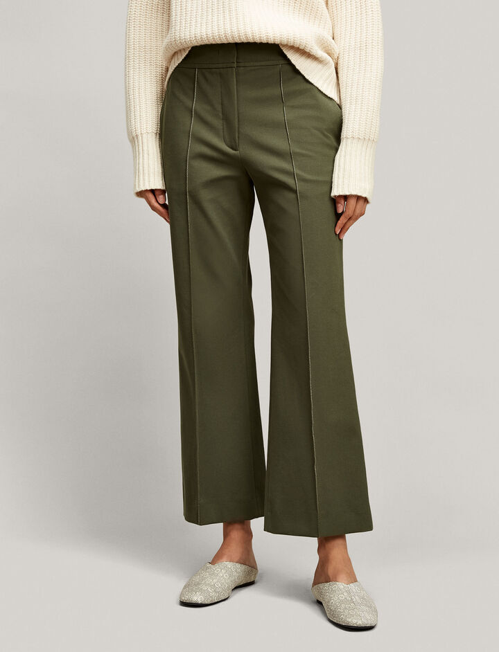 Joseph, Ridge Cavalry Stretch Trousers, in MILITARY