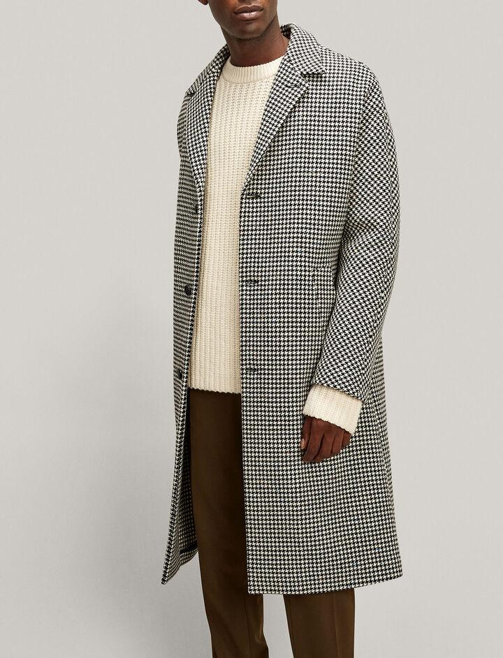 Joseph, Albert Smartie Dogthooth Coat, in BLACK