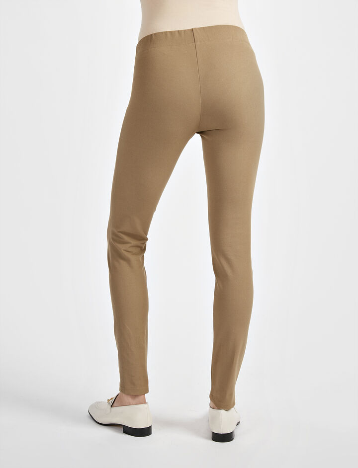 Gabardine Stretch Legging, in ARMY, large | on Joseph