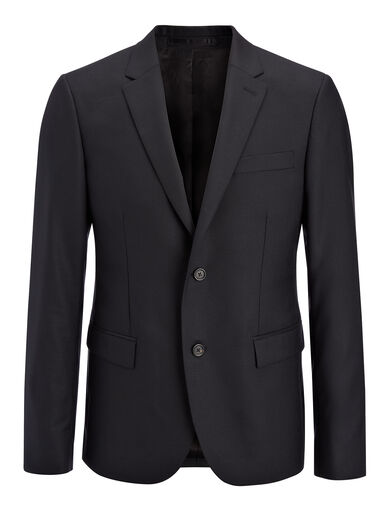 Tropical Wool Davide Suit Jacket, in BLACK, large | on Joseph