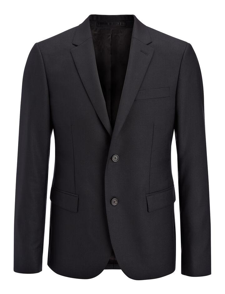 Tropical Wool Davide Suit Jacket, in BLACK, large | on Joseph
