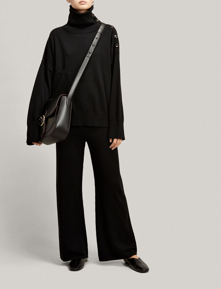 Joseph, Mongolian Cashmere Trousers, in BLACK