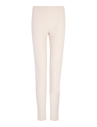 Gabardine Stretch Leggings, in CAMEO, large | on Joseph