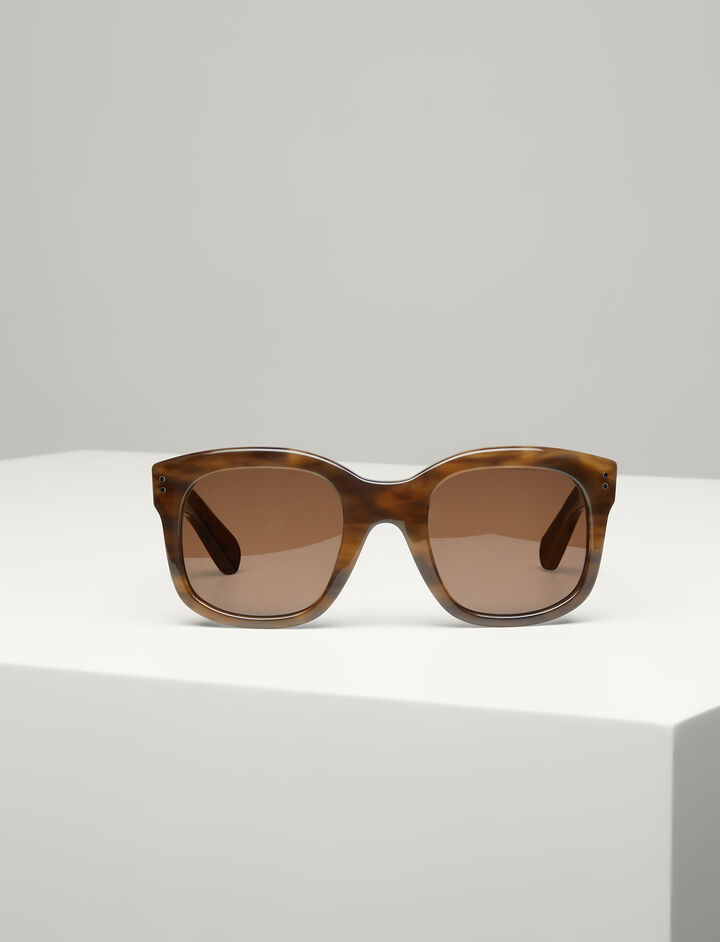 Joseph, Westbourne Sunglasses, in BROWN