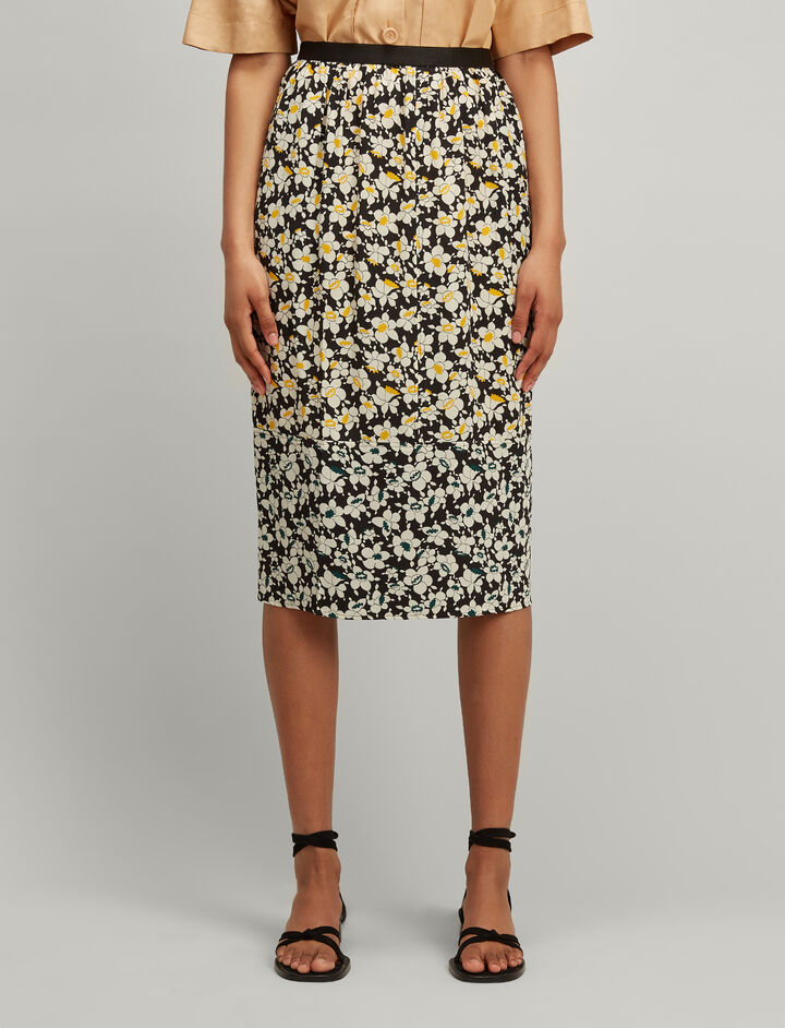 Joseph, Daffodil Oliver Skirt, in ACID/EMERALD