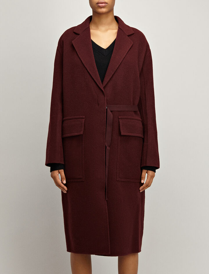 Joseph, Blanket Wool Silla Coat, in MORGON