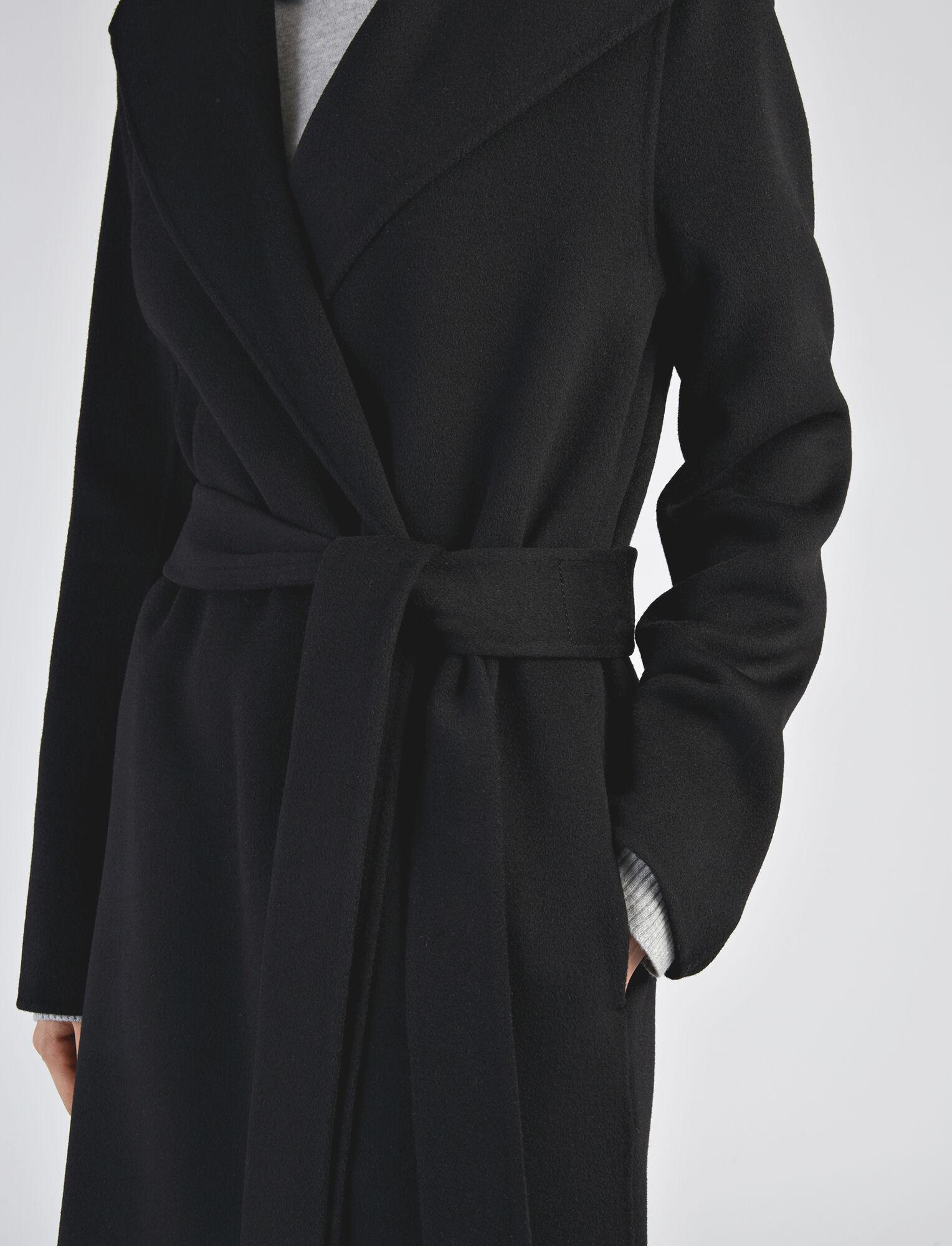 Joseph, Double Face Cashmere Lima Coat, in BLACK
