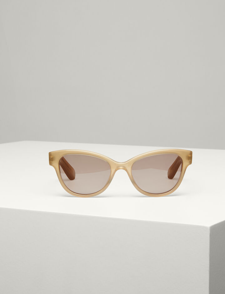 Joseph, Germain Sunglasses, in BEIGE
