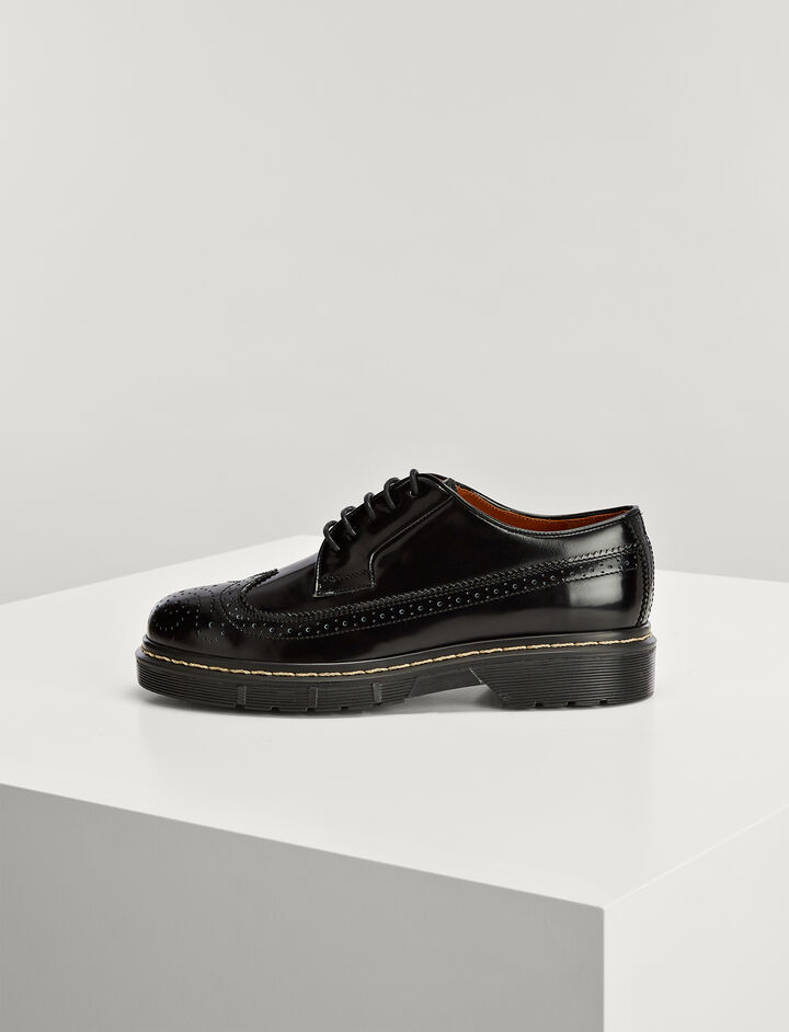 Stil Lux Dennis Brogues, in BLACK, large | on Joseph
