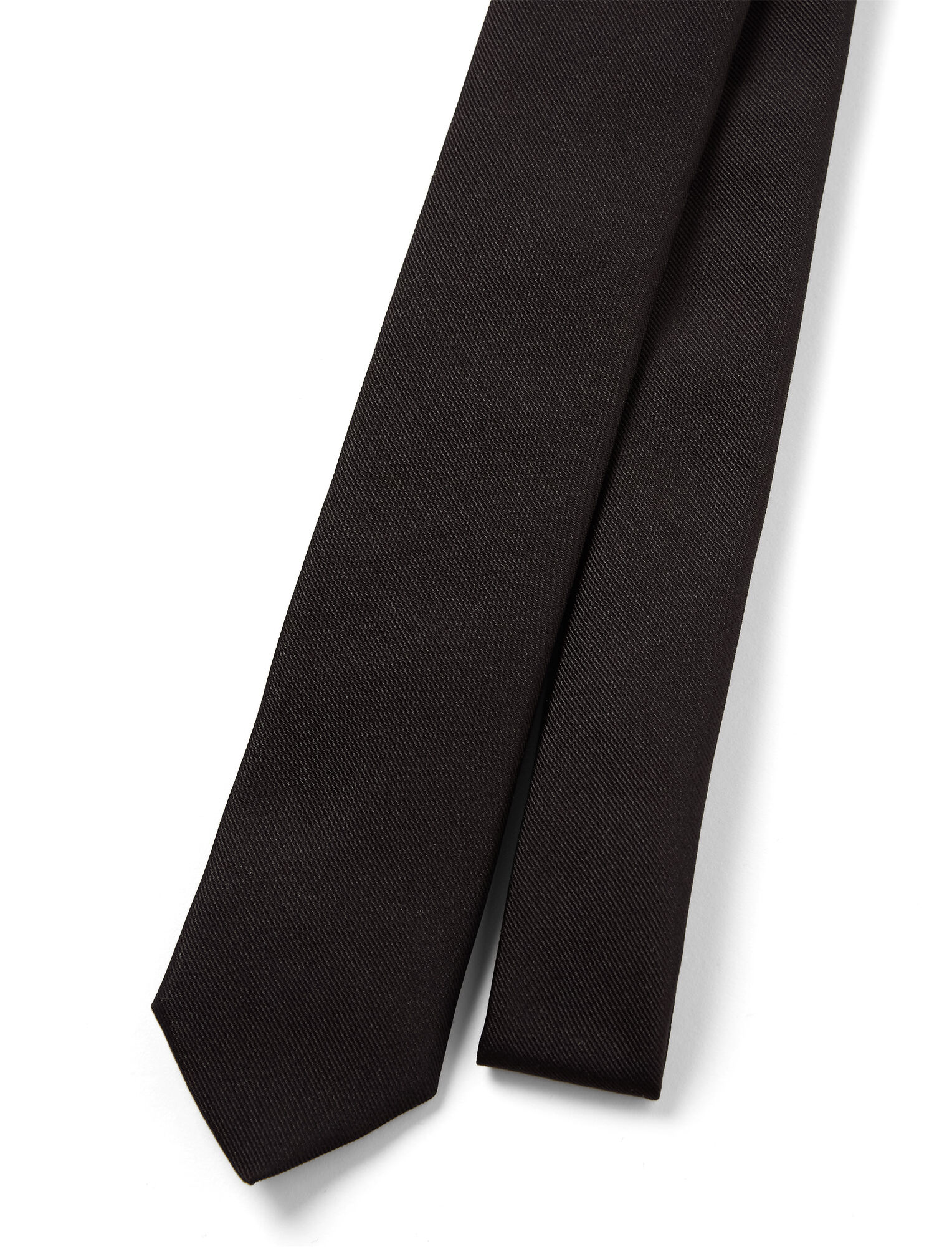 Silk Tie, in BLACK, large | on Joseph