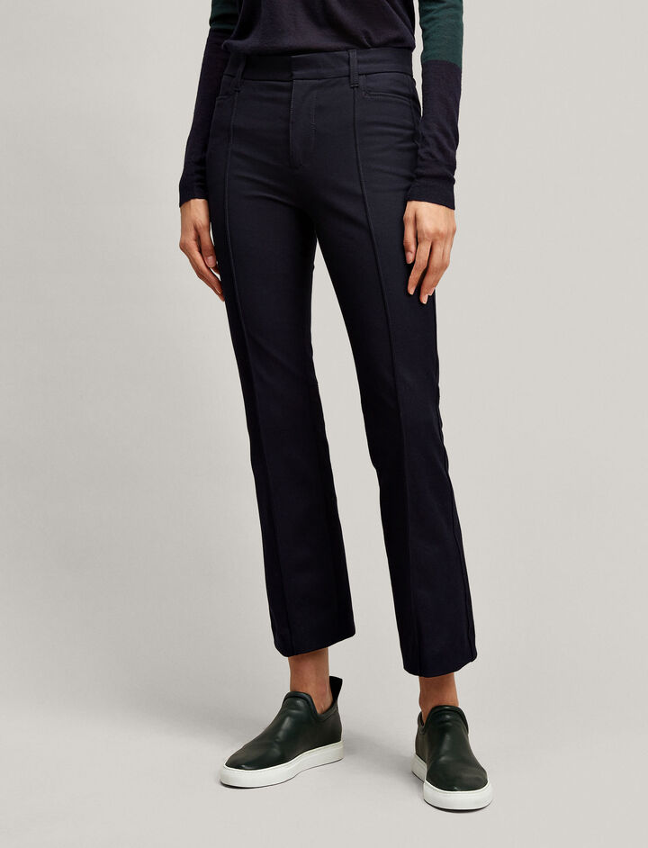 Joseph, Zed Gabardine Stretch Trousers, in NAVY