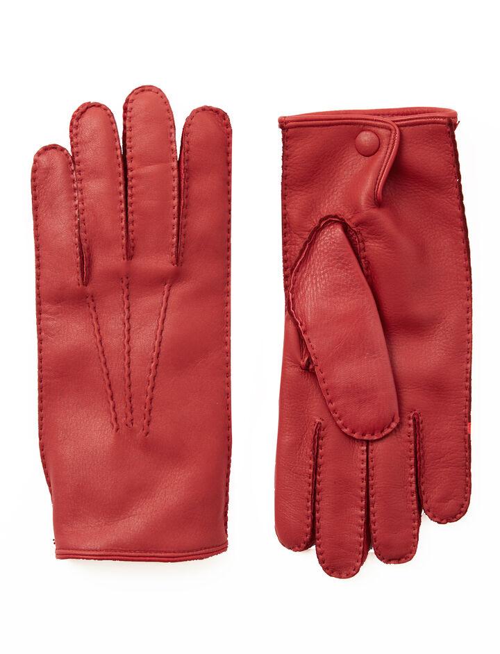 Cervo Gloves, in RED, large | on Joseph