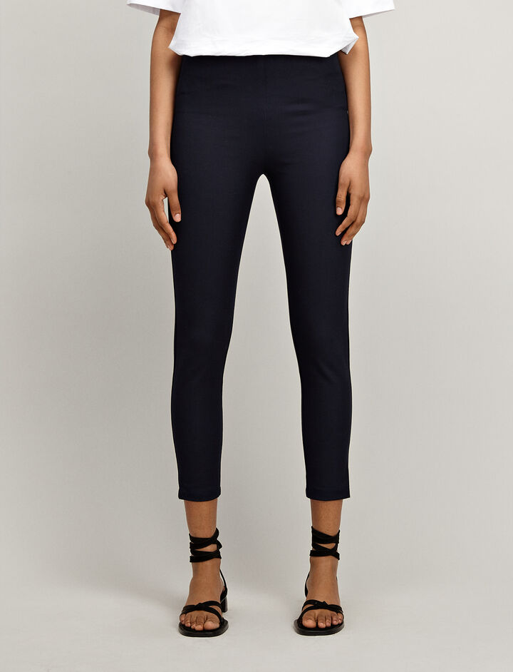 Joseph, Gabardine stretch Nitro Trousers, in NAVY