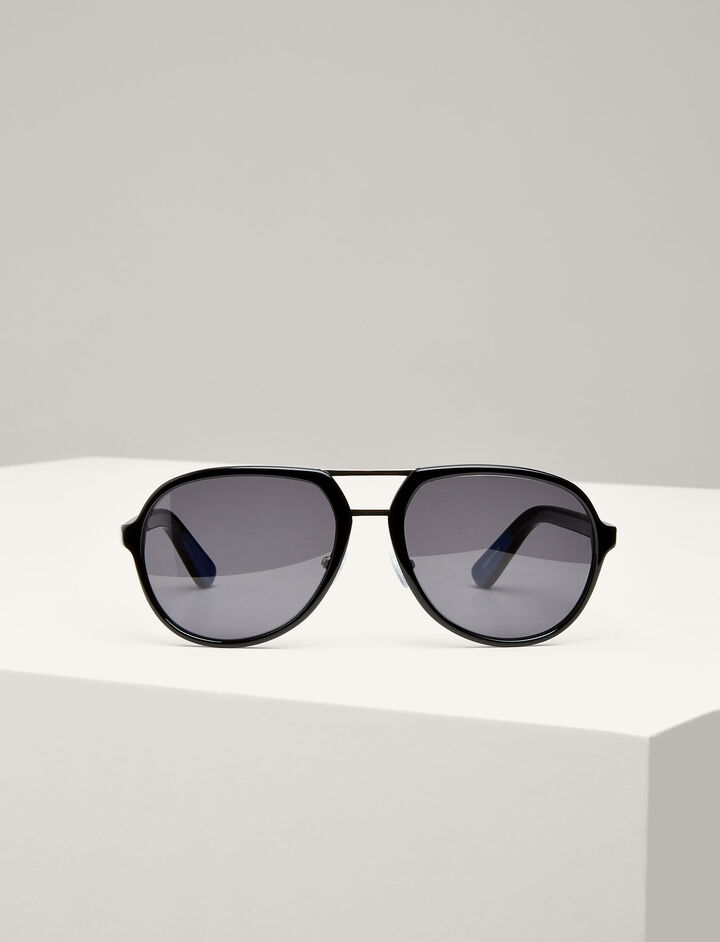 Joseph, Duke Sunglasses, in BLACK