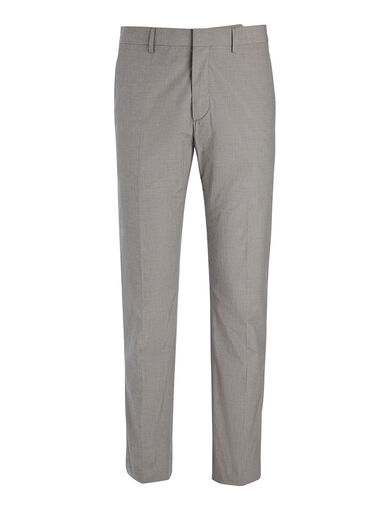 Pantalon Jack en coton suiting, in GREY, large | on Joseph