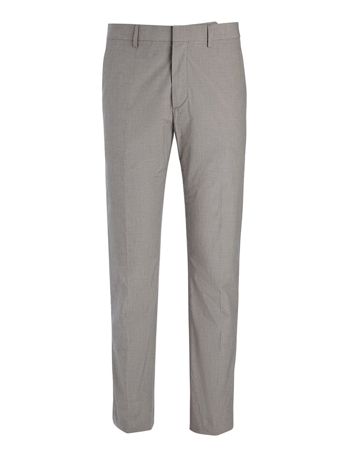 Cotton Suiting Jack Trouser, in GREY, large | on Joseph