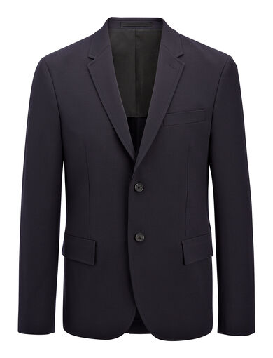 Techno Wool Stretch Halifax Suit, in NAVY, large | on Joseph