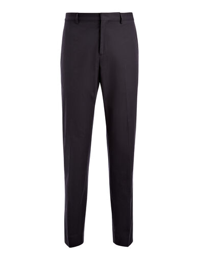 Light Cotton Jack Trouser, in NAVY, large | on Joseph