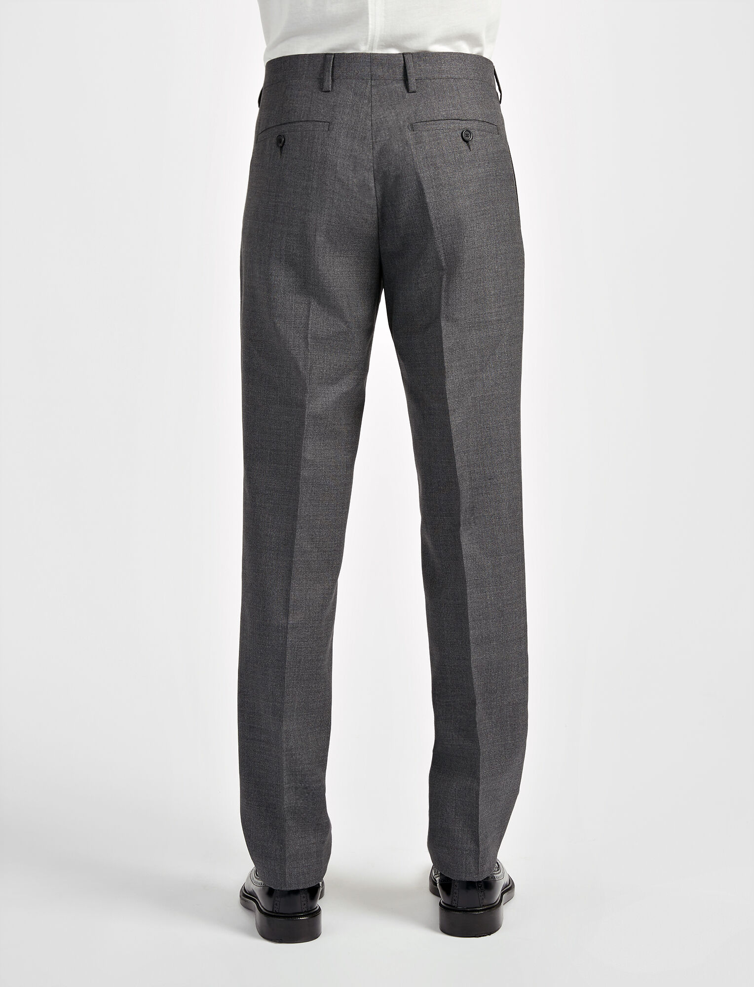 Joseph, Tropical Wool Darwin Suit Trouser, in GREY