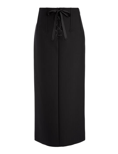 Scuba Jasper Skirt, in BLACK, large | on Joseph