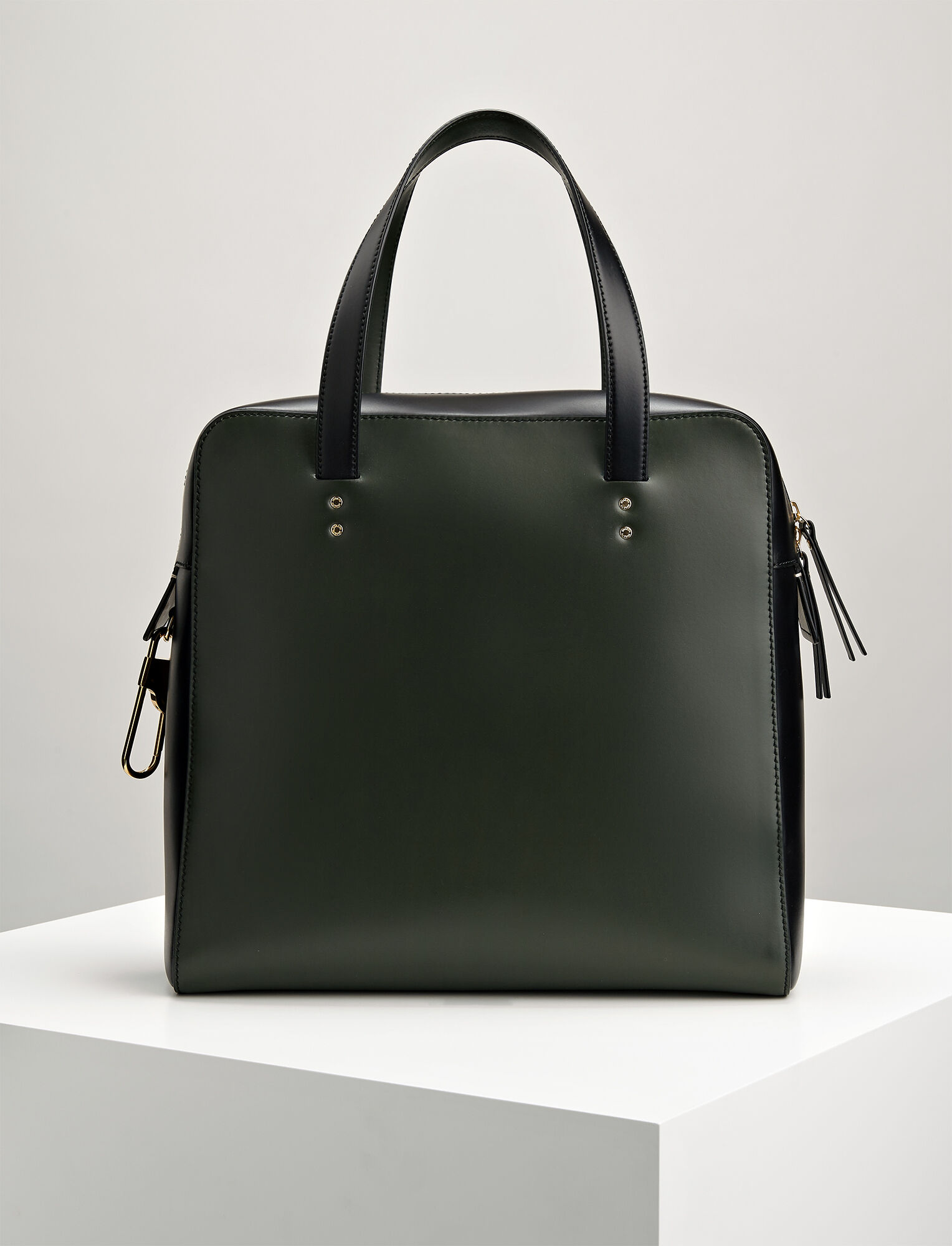 Joseph, Leather Ryder Bag, in FOREST