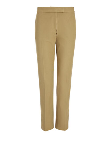 Gabardine Stretch Finley Trouser, in ARMY, large | on Joseph