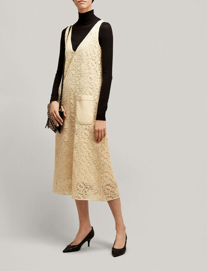 Joseph, Margo Palermo Lace Dress, in BUTTER