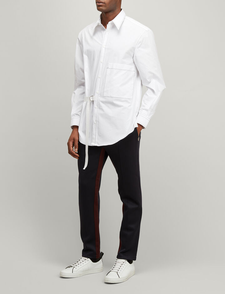 Joseph, Chemise Blanche Inglewood Shirt, in WHITE