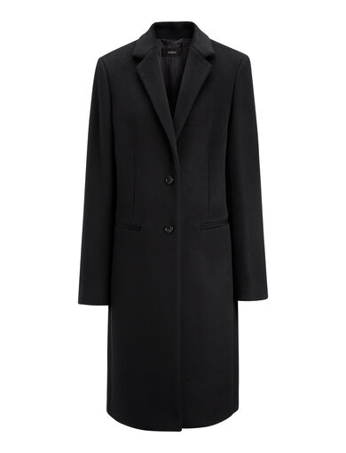 New Wool Coat Martin Coat, in BLACK, large | on Joseph