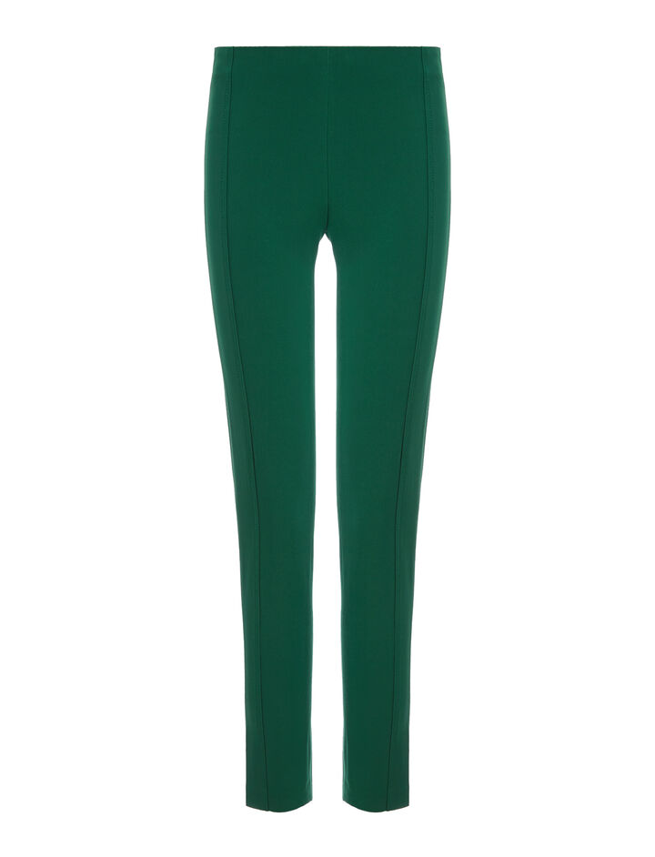 Joseph, Drill Stretch Lenny Trousers, in EMERALD