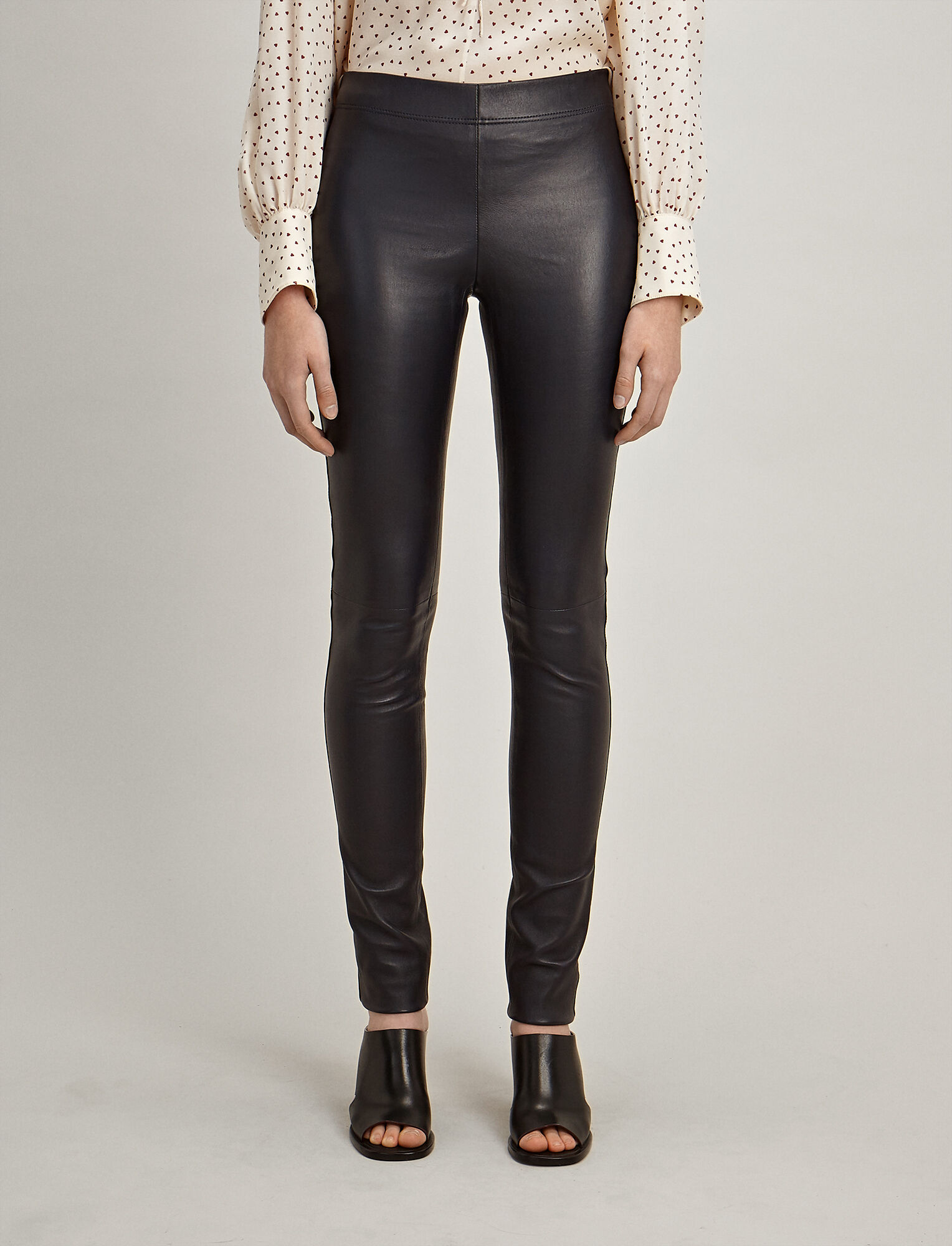 legging-style trousers - Brown Joseph