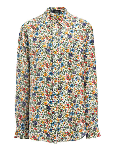 Liberty Print New Garcon Blouse, in MULTICOLOR, large | on Joseph