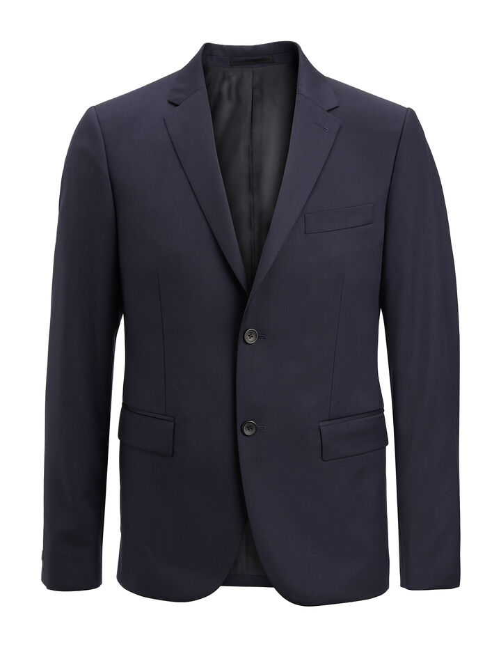 Joseph, Fluid Wool Davide Jacket, in DARK COBALT