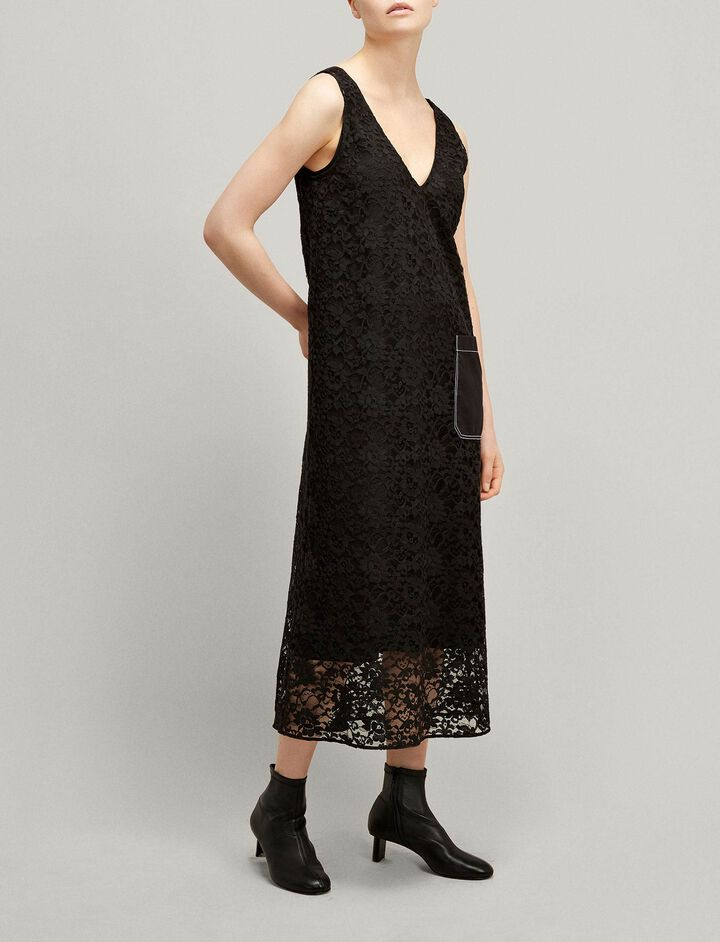 Joseph, Margo Palermo Lace Dress, in BLACK