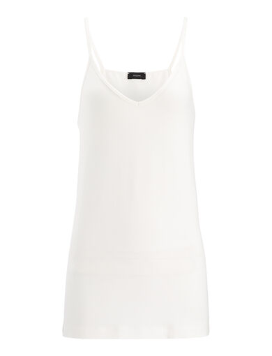 Camisole-Stretch Jersey, in CHALK, large | on Joseph