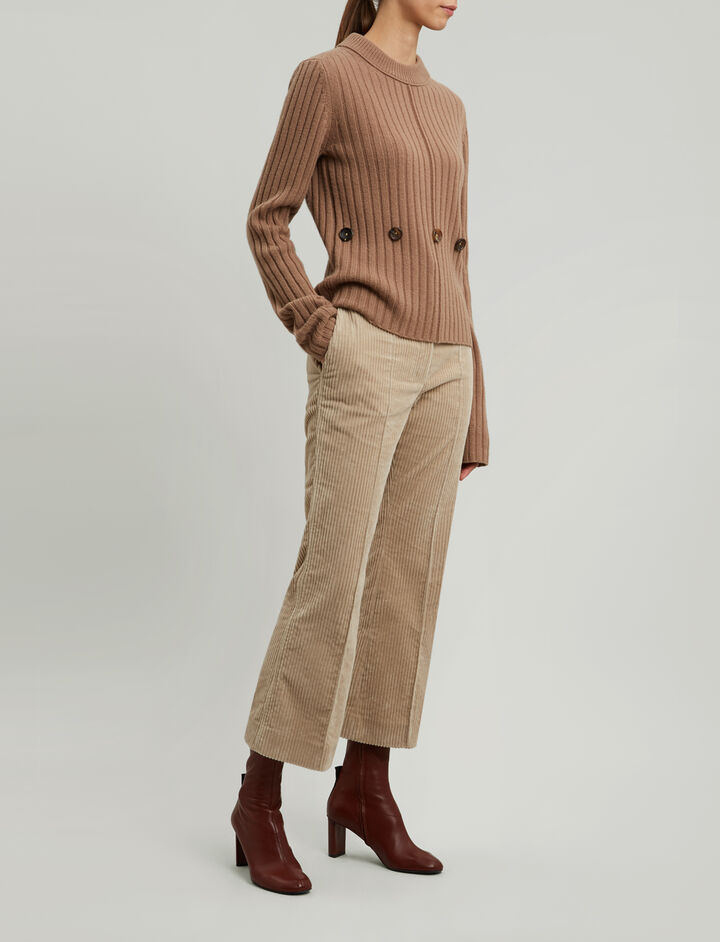 Joseph, Soft Wool Knit, in CAMEL