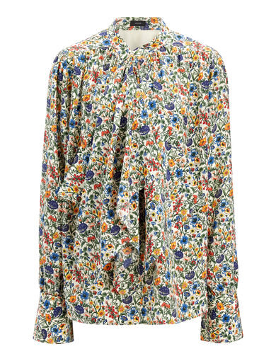 Blouse Cora à imprimé Liberty, in MULTICOLOR, large | on Joseph