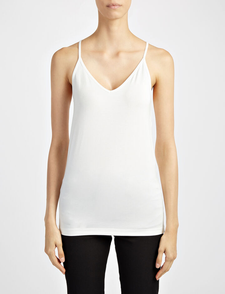 Joseph, Camisole-Stretch Jersey, in CHALK