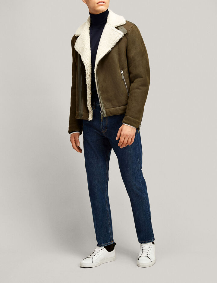 Joseph, Gaston Boyfriend Original Denim Trousers, in NAVY