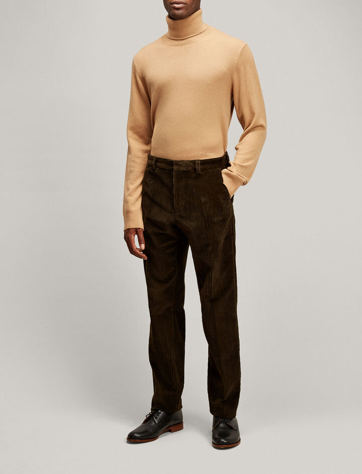 Joseph, Ernest Jumbo Corduroy Trousers, in MILITARY