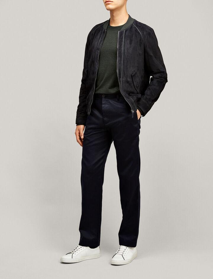 Joseph, Bernard Compact Chino Trousers, in NAVY