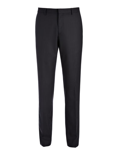 Tropical Wool Darwin Suit Trouser, in BLACK, large | on Joseph