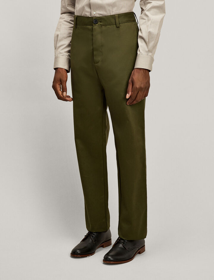 Joseph, Bernard Compact Chino Trousers, in MILITARY