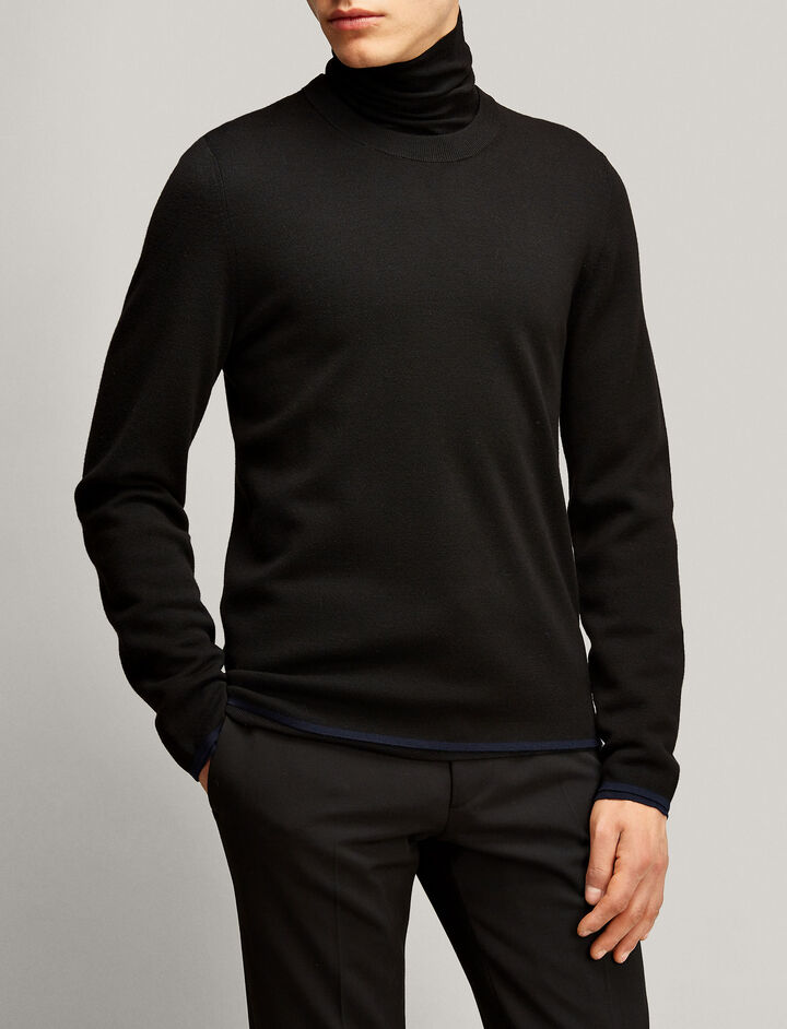 Joseph, Fine Milano Knit, in BLACK