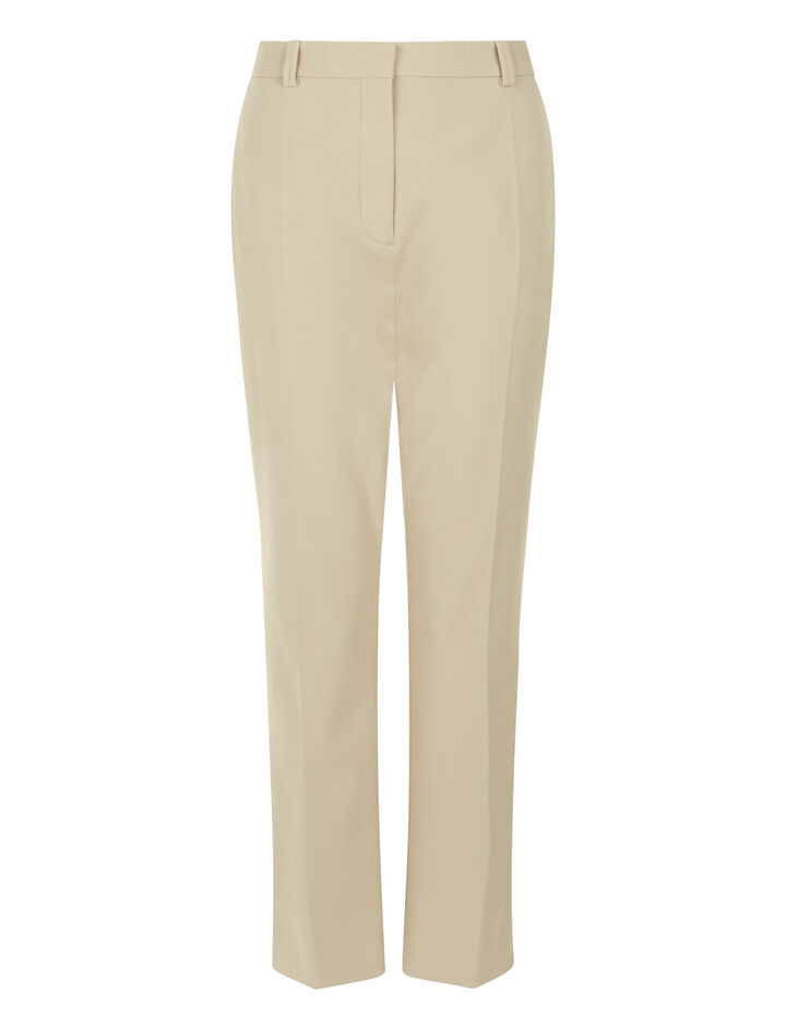 Joseph, Zoomy Cavalry Stretch Trousers, in FAWN