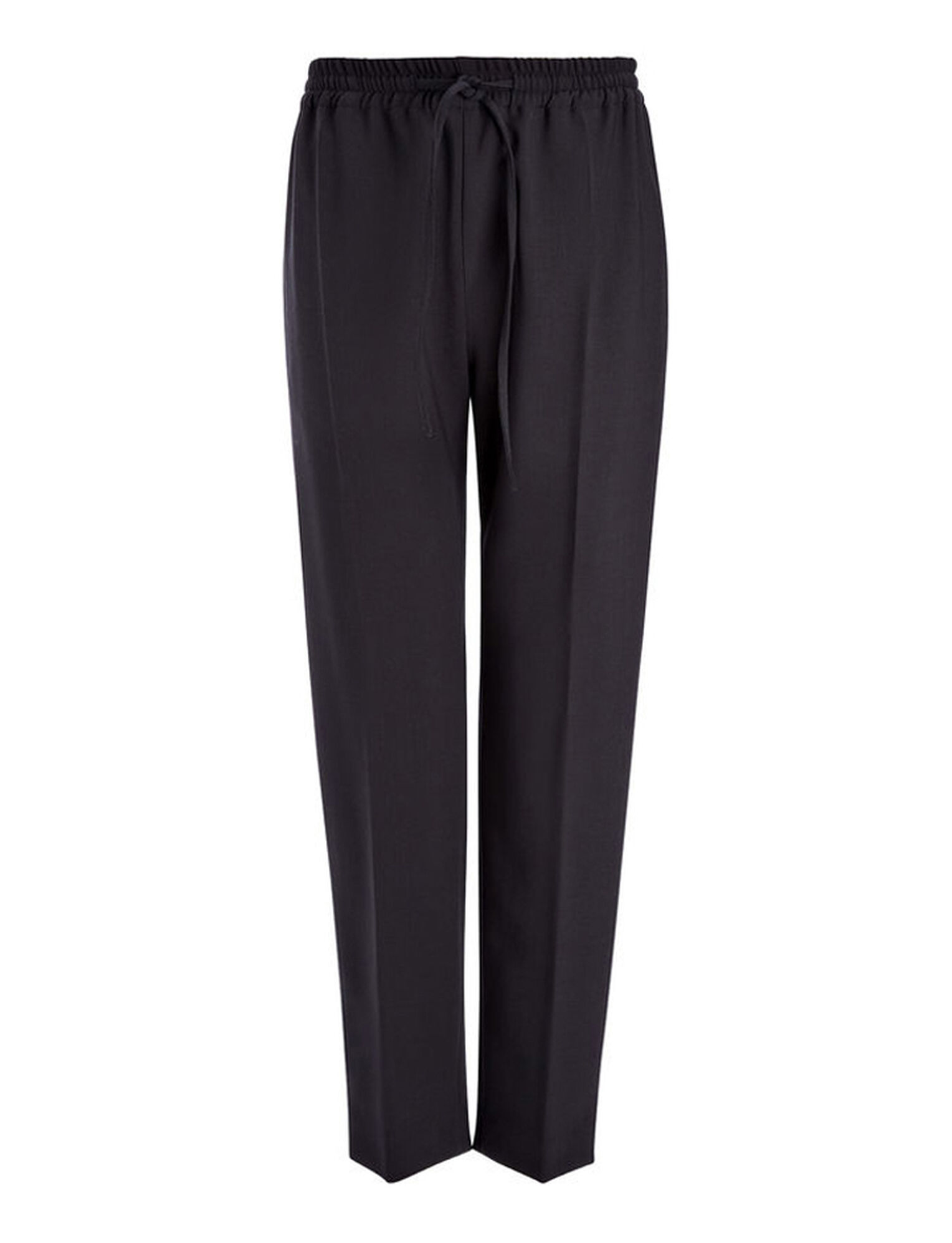 Joseph, Stretch Wool Louna Trouser, in NAVY