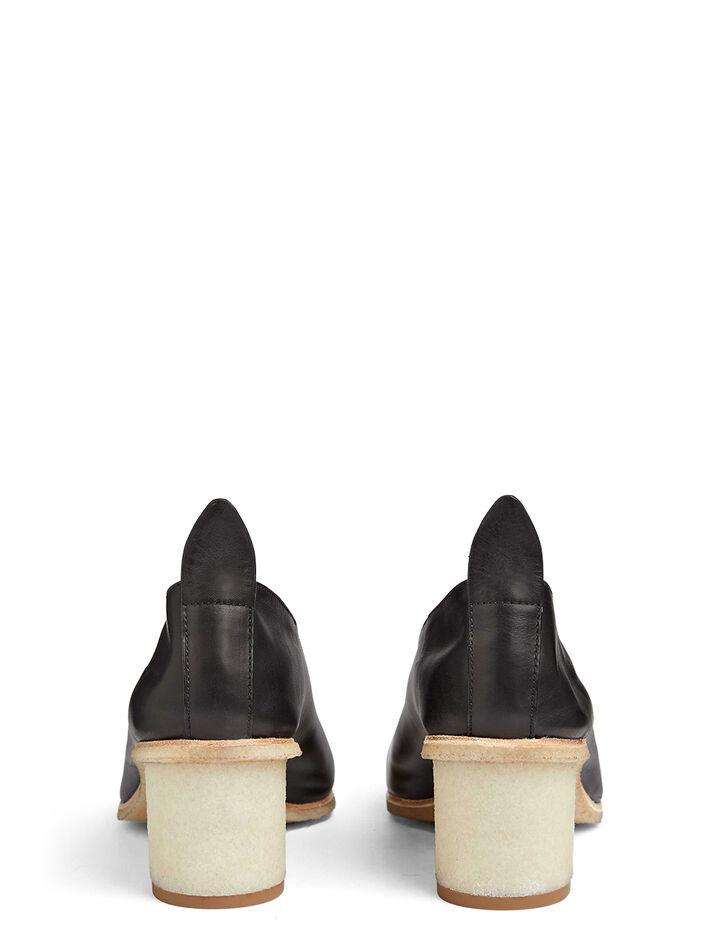Calf Leather Pump, in BLACK, large | on Joseph
