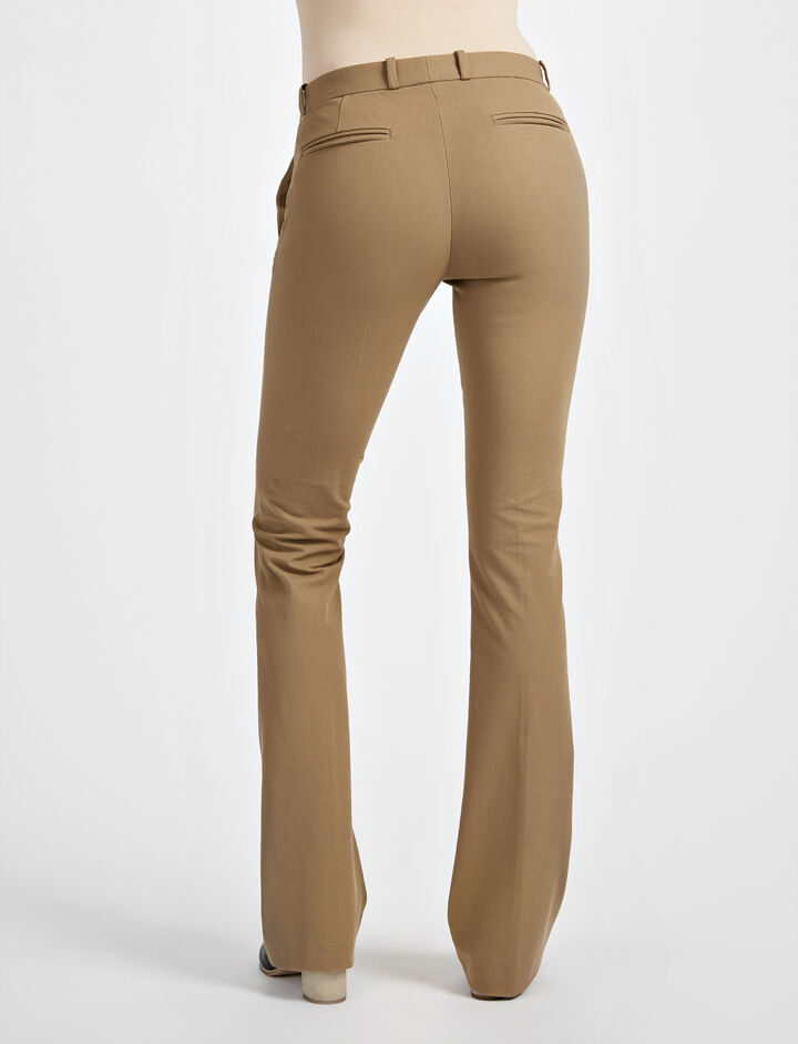 Gabardine Stretch New Rocket Trouser, in ARMY, large | on Joseph