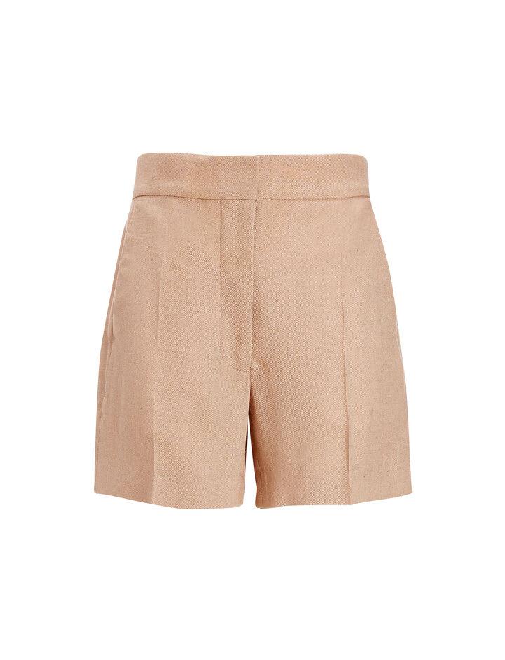 Joseph, Hopsack Chine Windsor Shorts, in AMBER