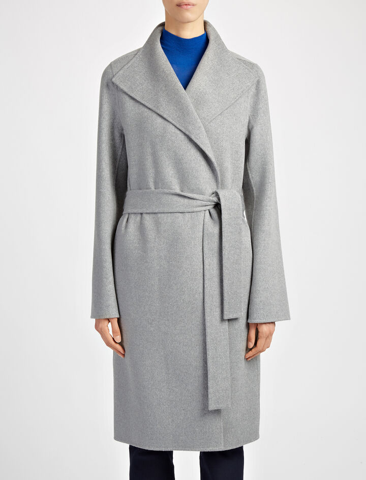 Joseph, Double Face Cashmere Lima Coat, in CONCRETE